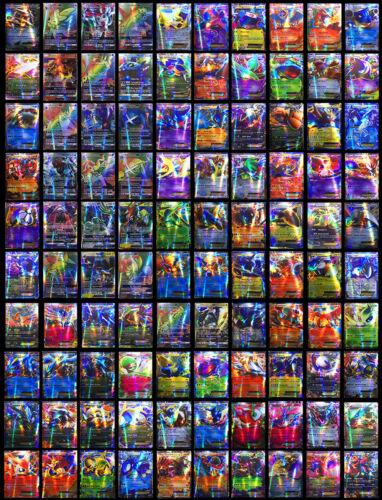 Hot ! New Pokemon TCG : 100 FLASH CARD LOT RARE 20 GX +80 EX CARDS NO REPEAT 28