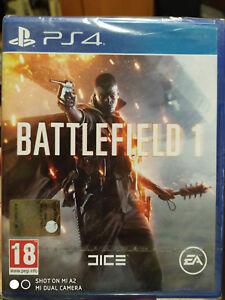 BATTLEFIELD-1-1-edizione-gioco-per-PS4-PLAY4-Playstation-4-NUOVO-italiano