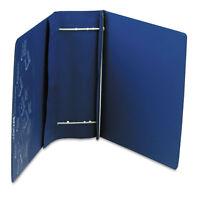 Charles Leonard Varicap6 Expandable 1 To 6 Post Binder 11 X 8-1/2 Blue 61602 on sale