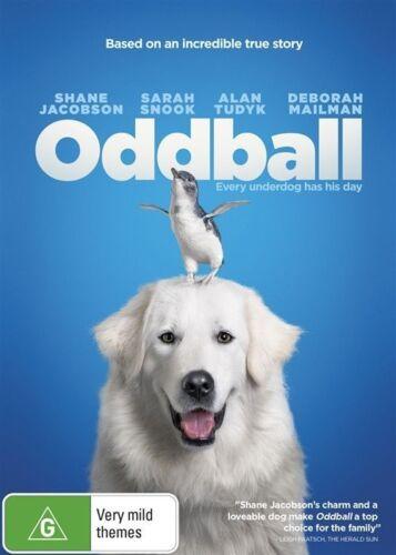 1 of 1 - ODDBALL (DVD, 2015) - VGC  SHANE JACOBSON, SARAH SNOOK, ALAN TUDYK, DEBORAH
