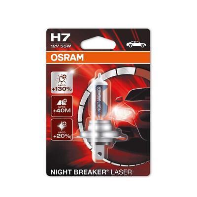OSRAM NIGHT BREAKER LASER H7 Halogen-Scheinwerferlampe 64210NBL, bis zu 130% meh
