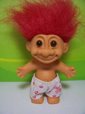 "5/"" Russ Troll Doll 100/% HUGGABLE BOY IN BOXER SHORTS NEW IN ORIGINAL BAG"