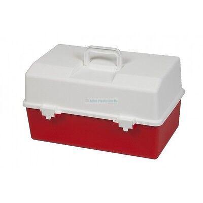 First Aid - Plastic Storage Box - Large 100% Australian Made