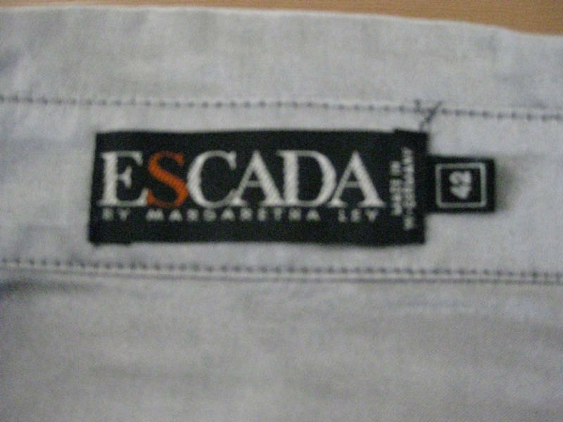 ESCADA BY MARGARETHA LEY VINTAGE SILK BLOUSE - image 6