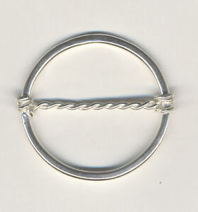 Sterling silver Scarf Ring for Silk Scarf itB8xlb