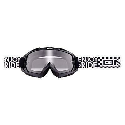 Oneal B-flex Goggle Launch Nero Moto Cross Mountain Bike Occhiali Mx Quad Mtb-