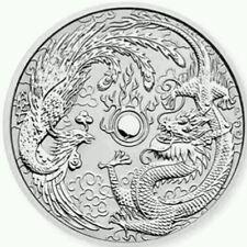 2017 Australian Dragon and Phoenix 1oz Silver Bullion Coin