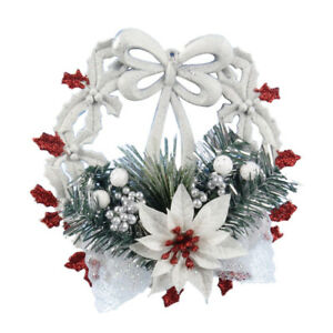 Weiss-Weihnachten-Zuhause-Tuer-Fenster-Ornamente-Weihnachtsdekoration-Weihn-X9B1
