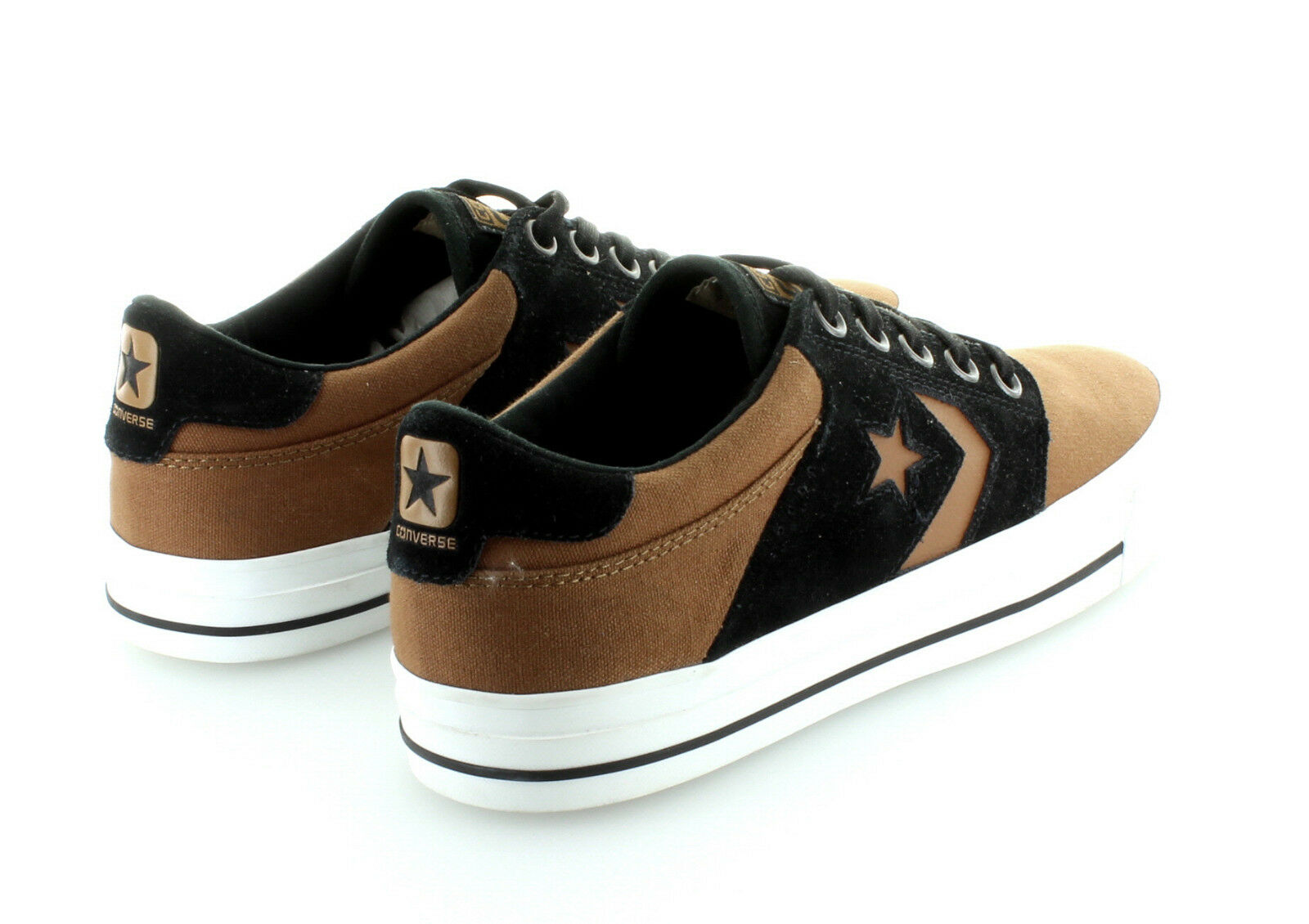 Converse Cons Tre Rubber Star Ox Canvas Suede Rubber Tre Black White Gr. 42,5  / 43 US 9 b6ee7a