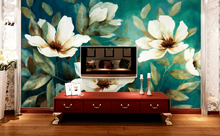 3D Gardenia Flowers 88 Wall Paper Murals Wall Print Wall Wallpaper Mural AU Kyra