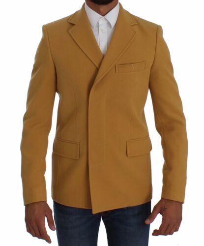 Blazer Trois Boutons S Jaune Bencivenga it46 Couture Us36 Veste s Nouveau 64xwP1SqZ