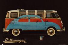 Poster CARS - VW BUS / Camper - Painted Beetle ca90x60cm NEU 58382