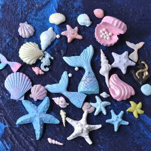 Silicone-Fondant-Mold-Beach-Sea-Animals-Cake-Conch-Seashell-Summer-Baking-Mould