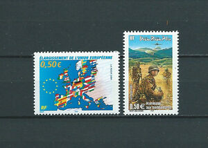 FRANCE-2004-YT-3666-a-3667-TIMBRES-NEUFS-LUXE