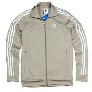 Details about Adidas ORIGINALS BECKENBAUER TT Track Top Mens Training Jacket Jacket Beige Gra show original title