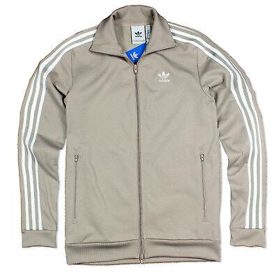 Adidas Originals Beckenbauer Tt Track Top Men's Training Jacket Jacket Beige Gra | eBay