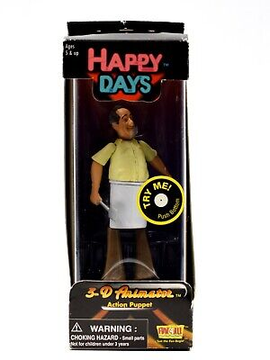 "Fun 4 All Alfred ""al"" Delvecchio Action Puppet Happy Days 3-d Animator"