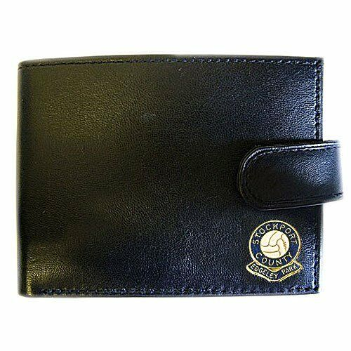 STOCKPORT COUNTYEDGELEY PARK F.C. LEATHER WALLET