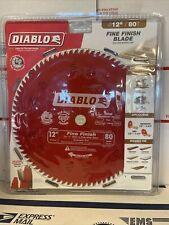 Diablo D1280X 12-Inch x 80 Tooth Fine Finish Saw Blade