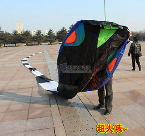 3D-40-meters-Stunt-huge-SNAKE-POWER-Sport-Kite-outdoor-toy-free-shipping-aaa
