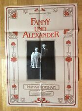 Fanny und Alexander (DDR-Kinoplakat '84) - Ingmar Bergman / Gunn Wallgren