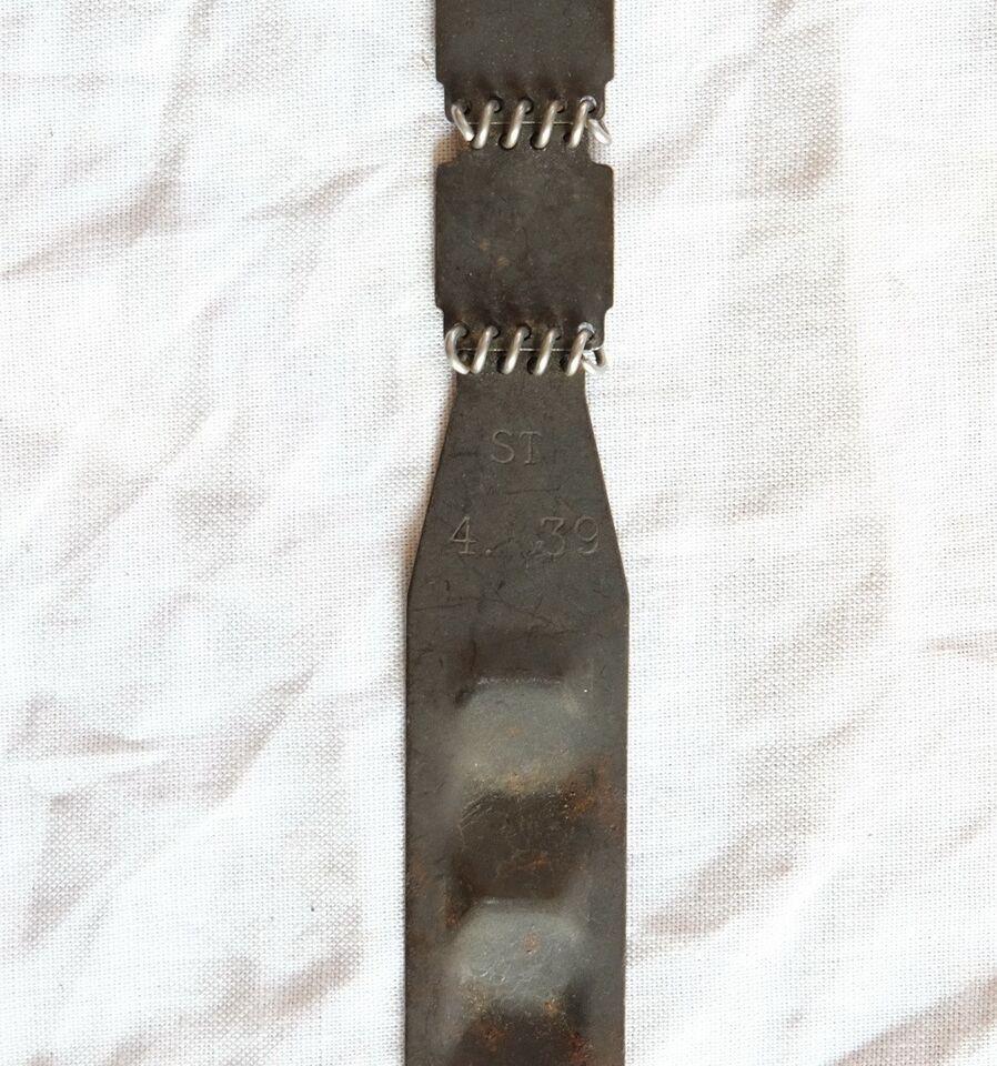 Militær, Originalt Tysk WW2 MG34/42 ammunitionsbånd