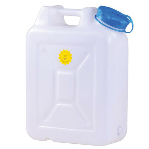 Wasserkanister Weithals Wasser Kanister Hünersdorff HD-PE Wassertank Camping