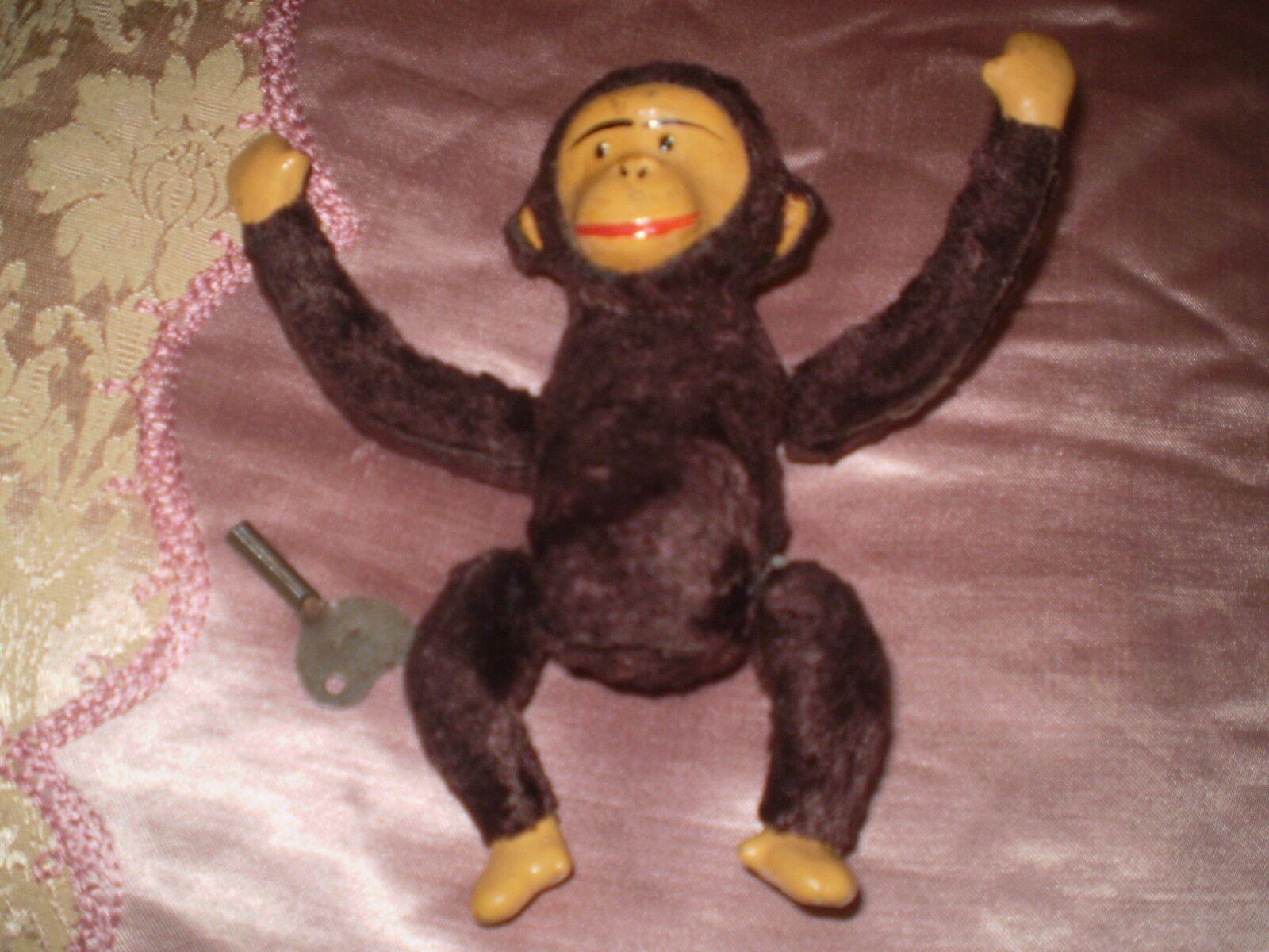 Old Vintage Doll Doll Doll Monkey Mechanics ede