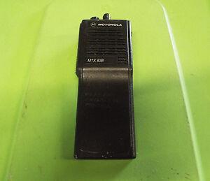 motorola mtx838 handie talkie fm radio h01rdc9db3an tx z18 ebay rh ebay com