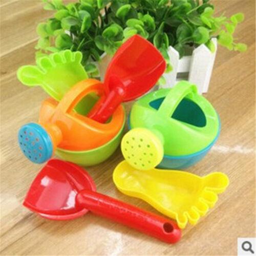 Eimer & Förmchen 1set Kids Flower Pot Sand Beach Toys Baby Bath Water Toys Educational Tool MA Spielzeug für draußen