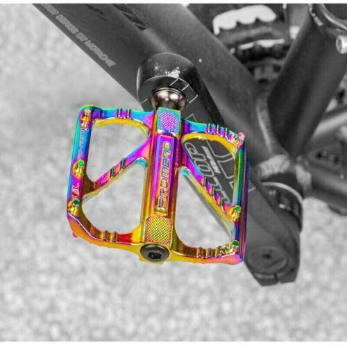 PROMEND Ultralight Aluminum Alloy MTB Mountain Road Bicycle Bike Pedal 3 Bearing