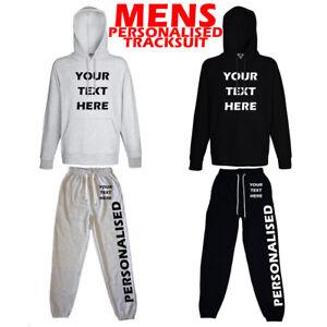 Para-Hombre-Chandal-Con-Capucha-Personalizado-personalizado-Chandal-promocion-de-negocios