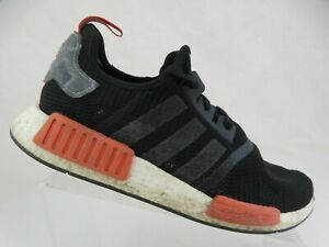 ADIDAS-NMD-R1-Black-Raw-AMber-Sz-10-5-Men-Running-Shoes