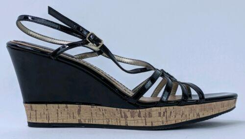 Tommy Hilfiger Women's 8.5M Wedges Heels Black St… - image 1