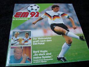 Ferrero-EM-92-EURO-92-Europameisterschaft-1992-Album-Komplett-Deutschland-DFB