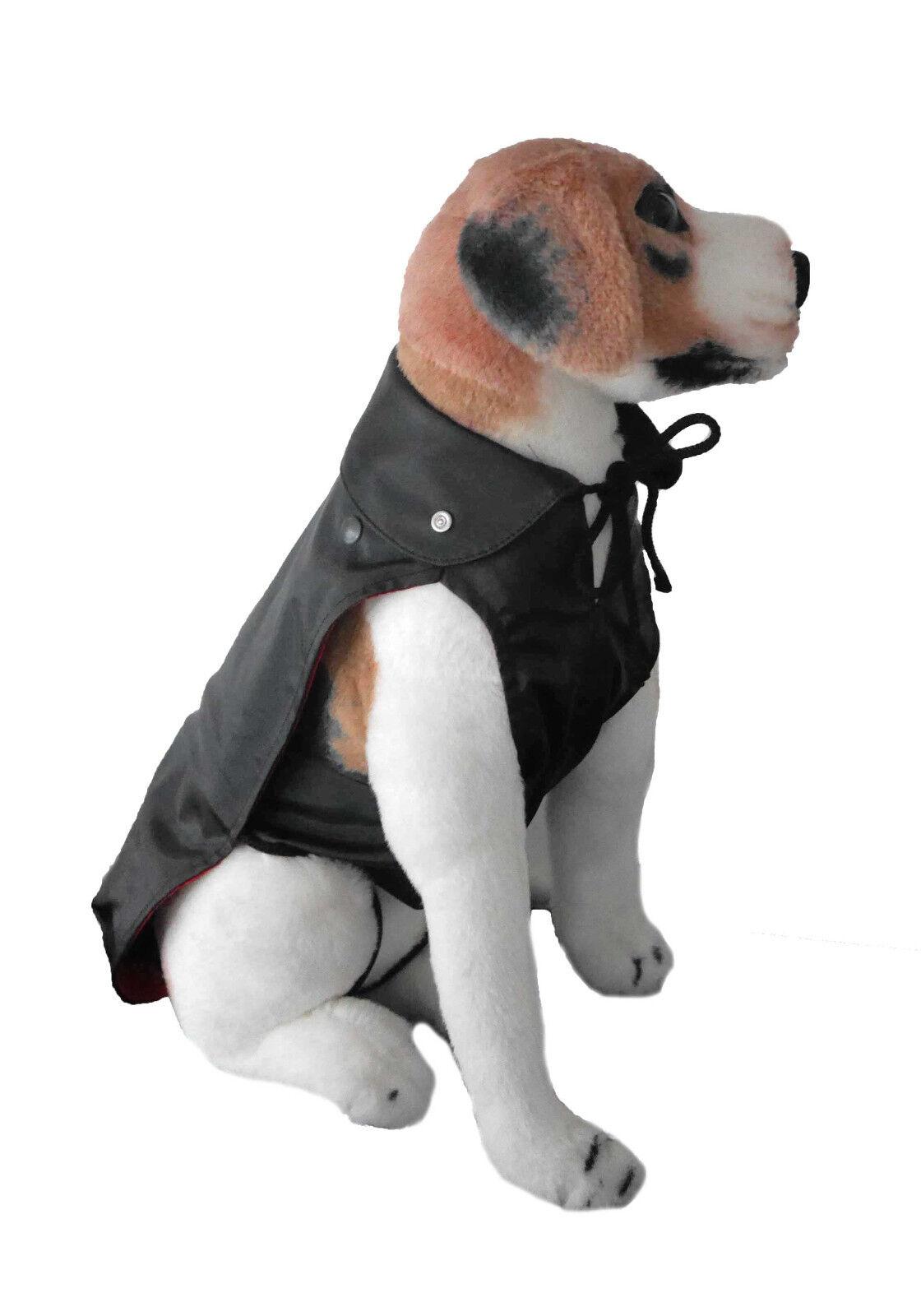 Hunde Regenmantel 2 in1 NässeKälteschutz abnehmbares Innenfutter Sommer-Winter   | Komfort