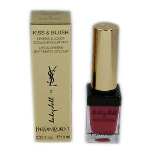 Ysl Baby Doll Kiss Blush Lips Cheeks Soft Matte Colour 10ml 2
