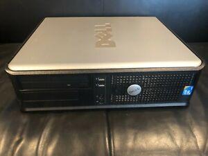 Dell Optiplex 760 SFF Desktop PC Intel Core 2 Duo 2.8GHz E7400/150GB/4GB/WIN 10