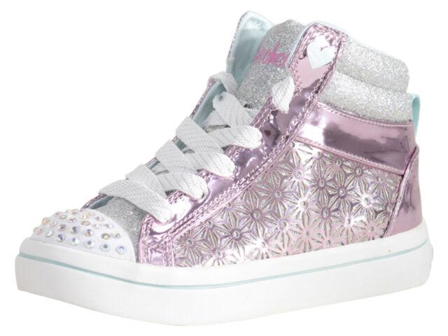 Glitter-Ups Pink/Silver Light