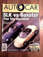 AUTOCAR MAGAZINE 30-OCT-96 - Mercedes SLK 230, Porsche Boxster, Westfield SEiGHT