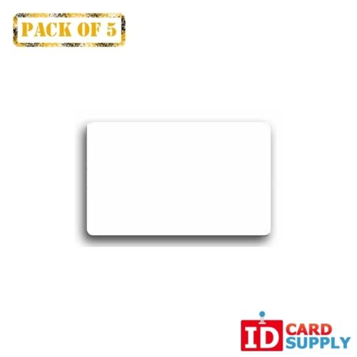 QTY 5Clear ID Card Protective Overlay with Adhesive Back