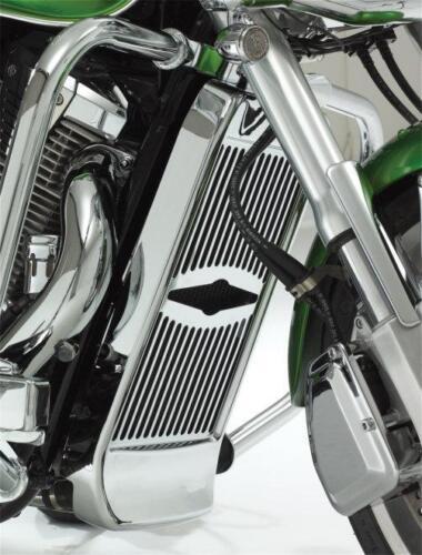 Celestar Chrome Radiator Grille fits all Honda VTX1800 by Show Chrome (55-145A)