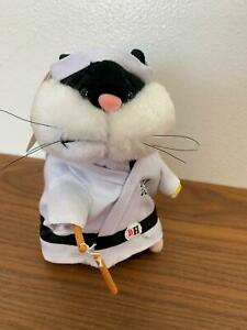 Gemmy-Dancing-Singing-Animated-Hamster-Collection-034-Kung-Fu-Fighting-034-with-Tag