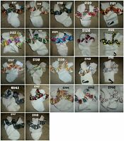 Adult Baby Sissy Girly Socks W/ribbon Trim - Ab/dl Age Play 2 Anonymous Listing