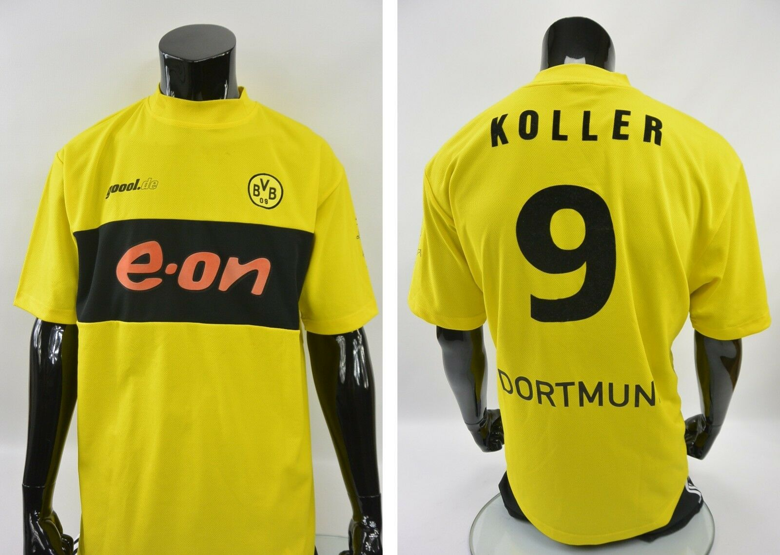 2002-2003 GOOOL BVB Borussia Dortmund Dortmund Borussia Home Shirt KOLLER no.9 SIZE 2XL XXL adult 2f1a0d
