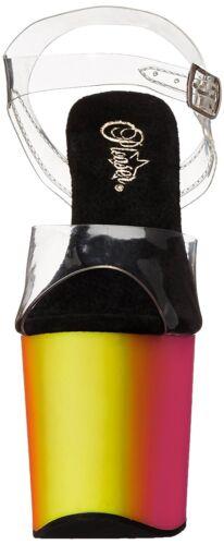 708uv da alla cinturino cinturino con alla con donna Sandali Rainbow caviglia caviglia Fx4wPWX8