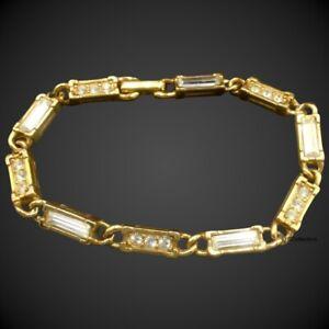 Link Bracelet Gold Tone Jewelry