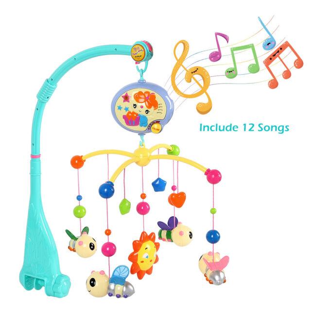 Babybett Mobile Spieluhr Musikmobile Kasten Halter Arm Halterung Spielzeug