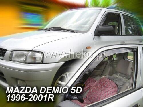 HEKO 23138 saute vent 2 pcs MAZDA DEMIO 5 türig année de construction 1996-2001