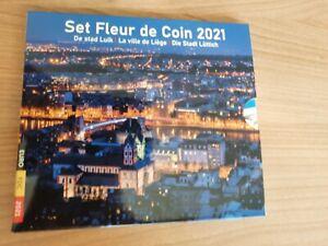 Euroset België 2021 Stad Luik met 2 X 2,5 €